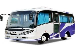 12 Seater A/C SML ISUZU Luxury Cab on Rent