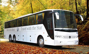 45 Seater Volvo Bus Hire in Amritsar