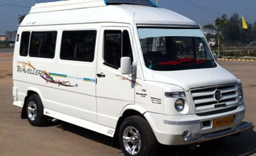9 Seater Tempo Traveller on Rent in Amritsar